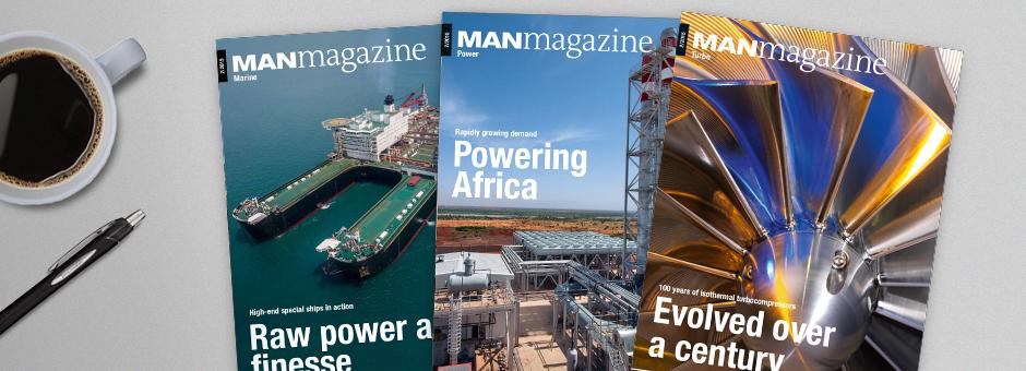 MANmagazine - MAN Diesel & Turbo